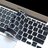 Masino KOREAN Language Silicone Keyboard Cover Ultra Thin Keyboard Skin for MacBook Air 11' (KOREAN Language-Black)