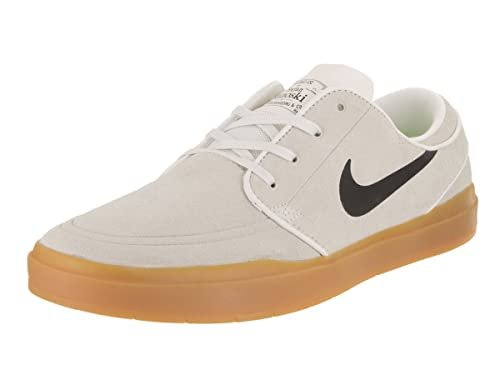 the latest 67e4c 70340 Nike Stefan Janoski Hyperfeel - Trainers, Men, White - (Summit White Black-Gum  Light Brown), 46  Amazon.co.uk  Shoes   Bags