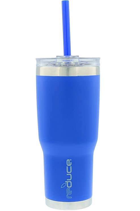 74a27a930f6 REDUCE COLD-1 Tumbler - 24oz Stainless Steel Insulated Tumbler With Straw &  Lid - Reduce Insulated Tumbler Keeps Drinks Hot & Cold - A Perfect Water &  ...