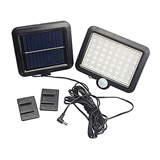 Amazon.com: AOZBZ - Lámpara solar de pared con sensor de ...