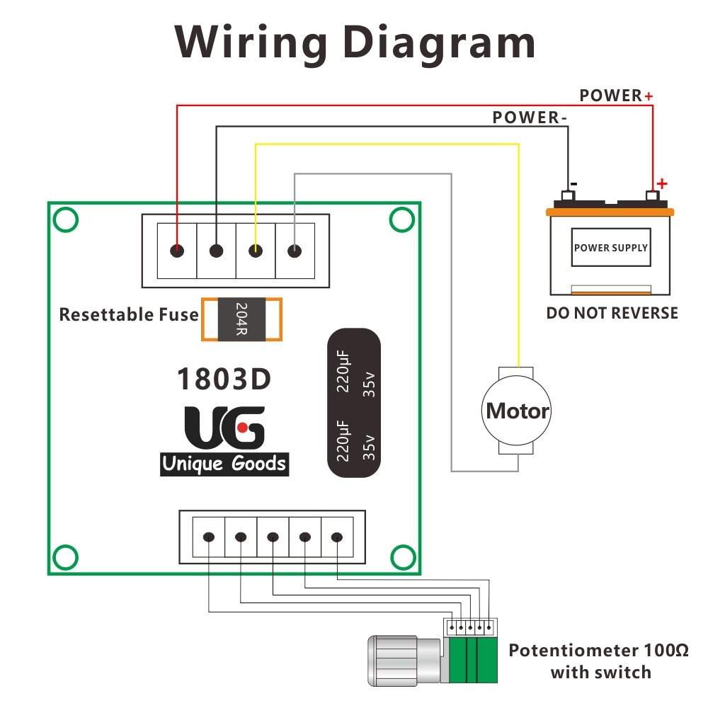 Uniquegoods 6v 12v 24v 28v Dc Digital Display Motor Speed Potentiometer Wiring Diagram Power Controller Adjustable Variable Switch 126126048 Small Size Pwm Driver Brand New