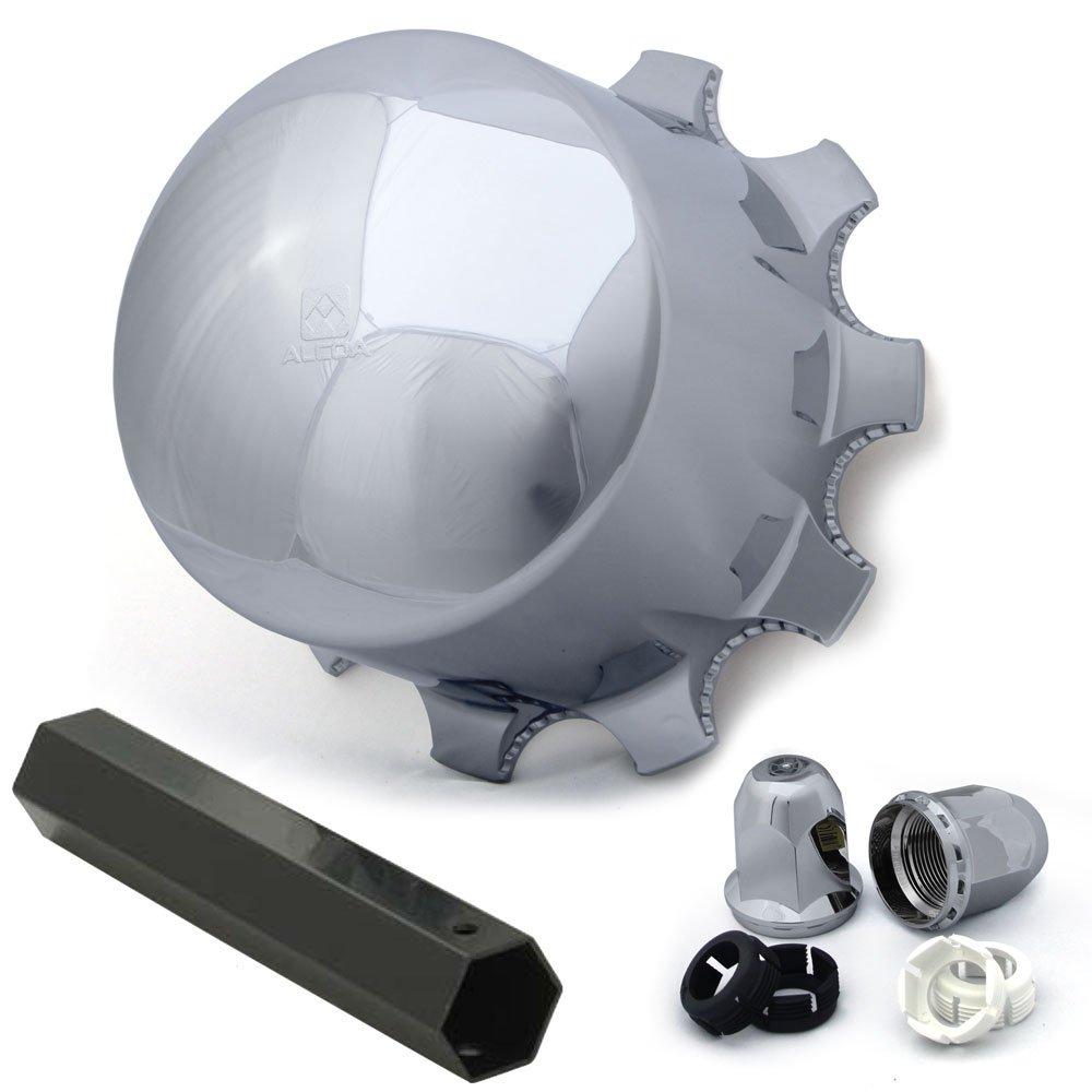 Alcoa Multi-Piece Hub & Lug Cover Kit for Drive / Trailer 10 Lug on 285.75mm