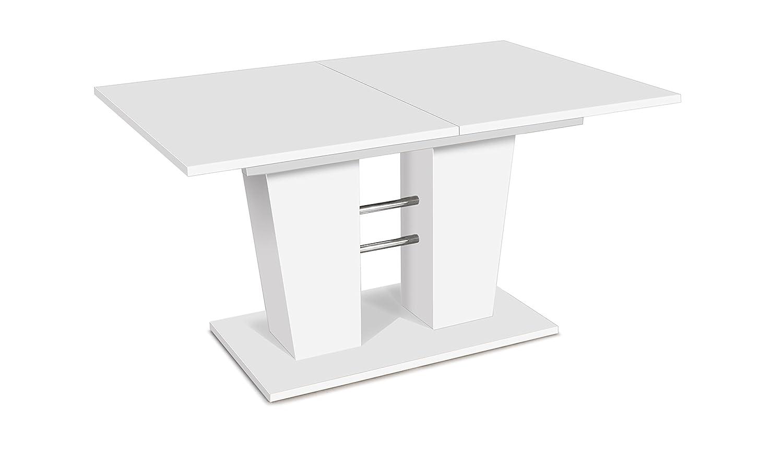 Auszugstisch - Esstisch mit Synchronauszug (B/H/T: 140-180 x 75 x 90 ...