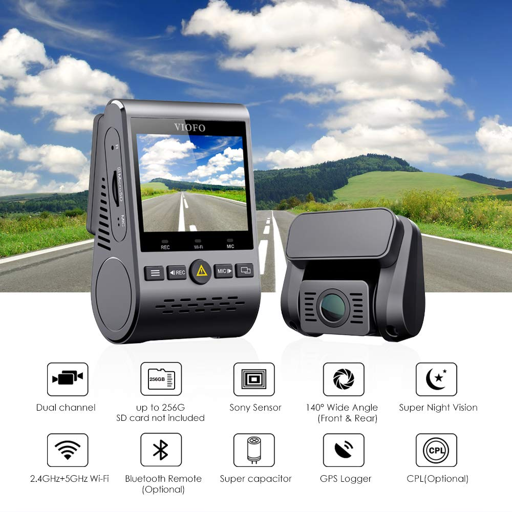VIOFO A129 Car Dash Camera 3 Wire Acc HK3 Hardwire Kit for Parking Mode