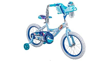 3626357c637 Amazon.com : Girls 16 inch Huffy Disney Frozen Bike with Sleigh ...