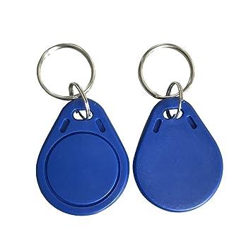 MATEE M1 Classic 1 K clave Fobs Azul Color acceso llavero ...