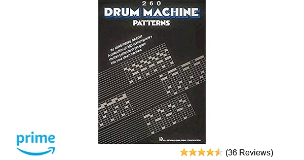 260 drum machine patterns hal leonard corp 9780881888874 amazon 260 drum machine patterns hal leonard corp 9780881888874 amazon books fandeluxe Image collections