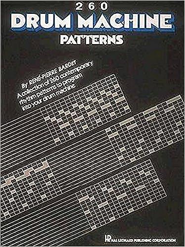 260 Drum Machine Patterns: Hal Leonard Corp : 9780881888874: Amazon