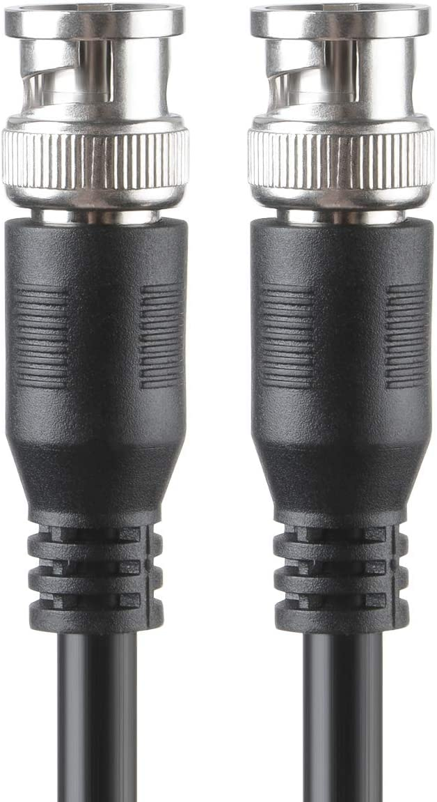 GREATLINK BNC to BNC Cable SDI 3G 75 Ohm Coax Cable 75-5 BNC to BNC Cable Copper Connectors Anti Oxidant 1080P for Video Security Camera CCTV Systems BNC Cable 3ft