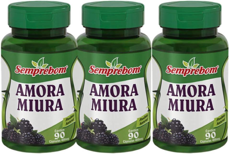 Amora Miura - Semprebom - 270 caps - 500 mg