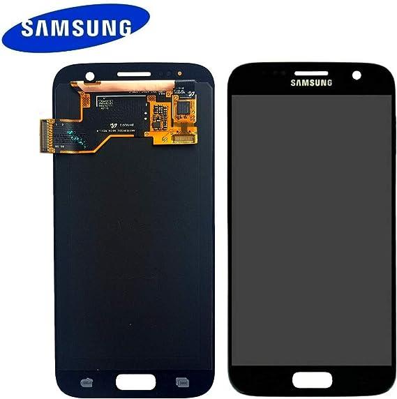 Repuesto de pantalla LCD Amoled original para móvil Samsung Galaxy S7 G930F, referencia GH97-18523 A: Amazon.es: Electrónica
