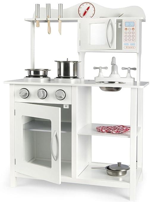 Cucina Leomark White Classic Classica Bianca Cucina Giocattolo Per ...