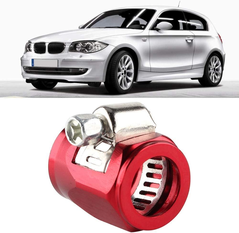Duokon AN6 Agrafe de trimmer de tuyau dalliage daluminium de modification de voiture finisseur de bride de tuyau de carburant