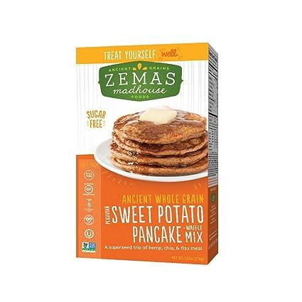 Zemas Madhouse Foods Best Pancake and Waffle Mix, Gluten ...