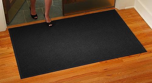 Consolidated Plastics Aquasorb Classic Deluxe Floor Mat 35 x116 , Charcoal