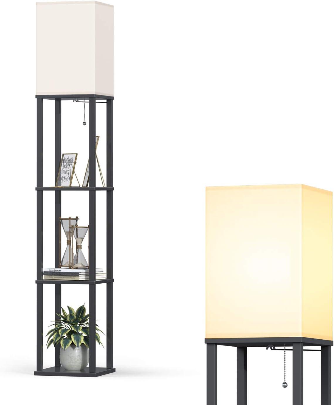Addlon LED Modern Shelf Floor Lamp