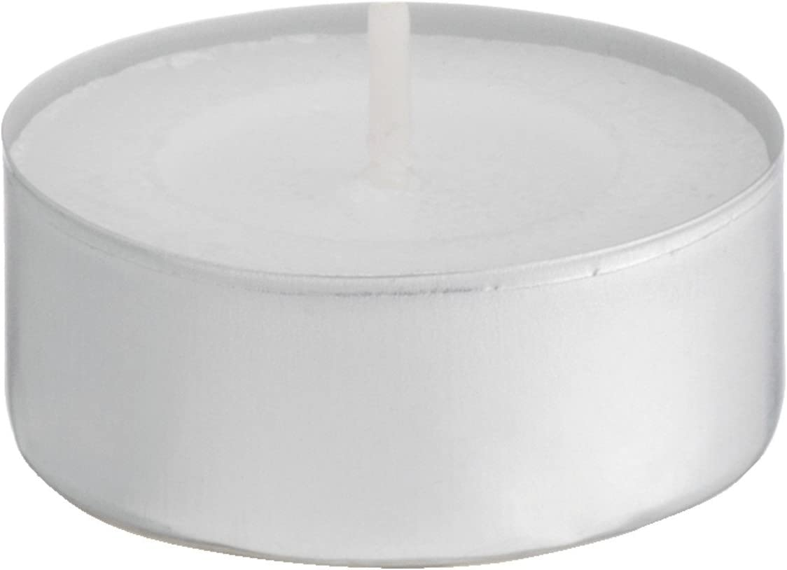 Baltus confezione da 20/candeline Unscented Wax Night Lights 8/ore di autonomia