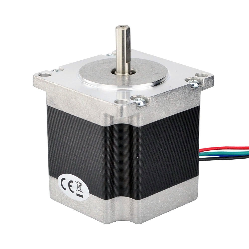 Nema 23 CNC Stepper Motor 2.8A 178.5oz.in/1.26Nm CNC Stepping Motor DIY CNC Mill by STEPPERONLINE (Image #3)