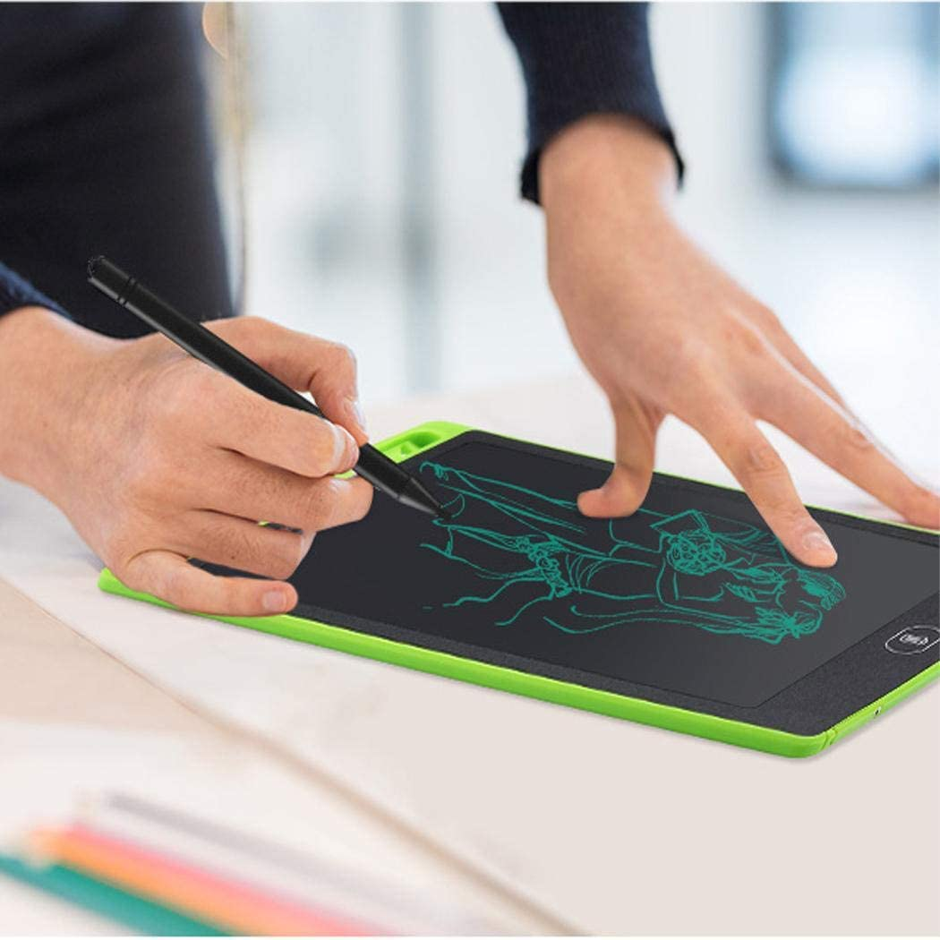 Zippem 8.5inch Portable Practical Reusable Children Writing Drawing Tablet Board Graphics Tablets