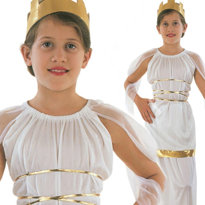 Venus Grecian Goddess Queen of the Nile Egypt Childs Kids Fancy Dress Costume