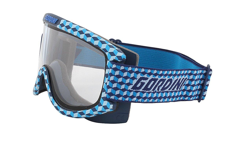 Gordini Juniors Starting Gate II Goggles Blue Cube Gold GG11G BLUCUB
