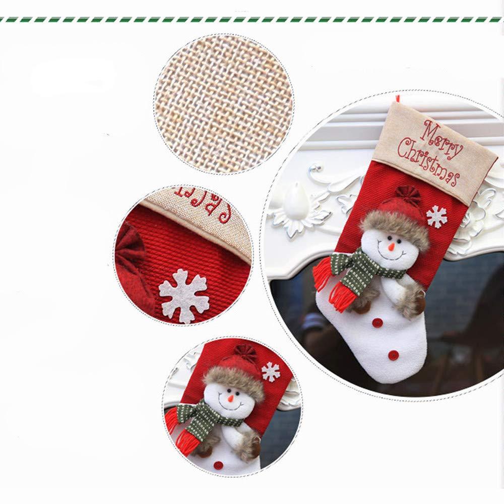 LEEDY - Bolsa de Regalo con Colgante de árbol de Navidad con ...