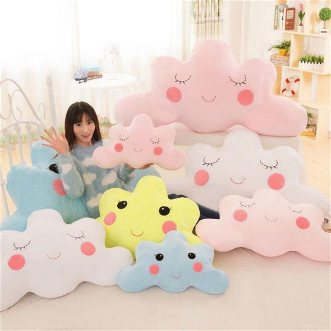 good01 Cute Cloud Shaped Pillow Cushion Stuffed Plush Toy Bedding Decoration