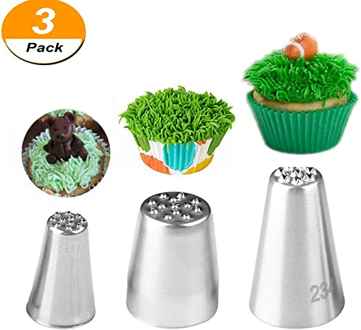 Stainless Steel Icing Piping Nozzles Tip Fondant Cake Decorating DIY Pastry Tool