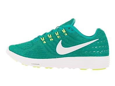 Amazon.com | NIKE Womens Lunartempo 2 Clear Jade/White Hypr Jade VLT Running Shoe 8 Women US | Road Running