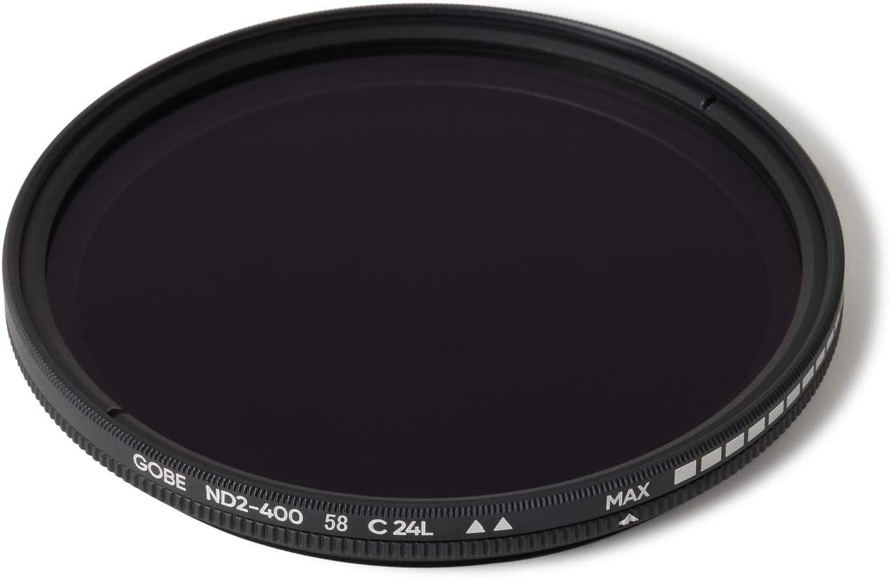 2Peak Gobe 82mm ND2-400 Variable ND Lens Filter