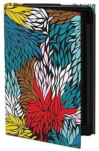 Keka SLP35-KHH7-GS4 Khristian Howell Designer Classic - Funda con tapa para Samsung Galaxy S4, diseño de paisaje con hojas, varios colores