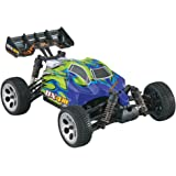 Dromida 1:18 Scale RTR Remote Control RC Car: BX4.18BL Brushless Electric 4WD BX Buggy with 2.4GHz Radio, 7.2V 6C 1300mAh NiMH Rechargeable Battery, 4 x AA Batteries and Charger