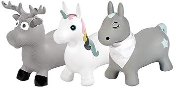 Kindsgut - Animal saltarín, Animal Hinchable para Saltar, brincar ...