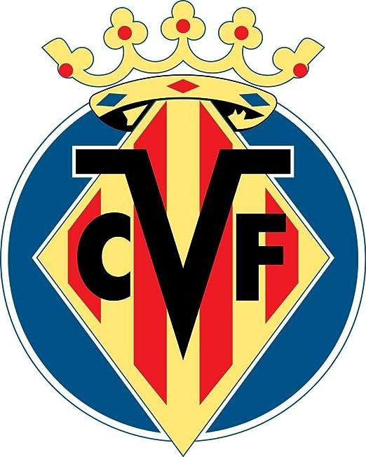 Balón de fútbol americano VILLARREAL CF - Club Crest logo de pared ...
