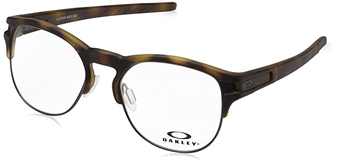 5824deca834 Image Unavailable. Image not available for. Color  OAKLEY LATCH KEY RX  OX8134 - 813402 EYEGLASSES MATTE BROWN 50MM