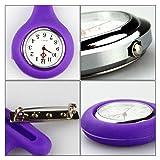 OSOPOLA Nurse Pocket Watch with Brooch Silica Gel