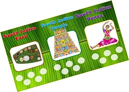Party Stuff Icecream Theme Tambola Housie Tickets - South