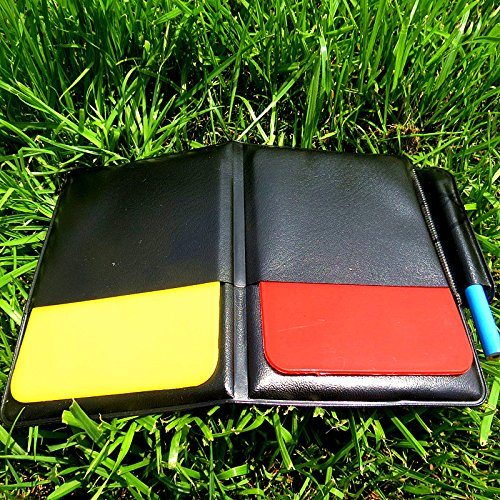 Soccer Football Referee Case with Red Card and Yellow Card - 7