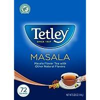 Tetley Masala Tea, Strong, Full-Flavoured Masala Chai, Rich Indian Spices for A Warm, Inviting Taste, 72 Tea Bags…
