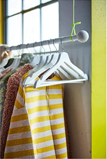 Ikea Bumerang - Perchas de Madera para Ropa, 8 Unidades ...