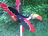 Tucan whirligig windspinner