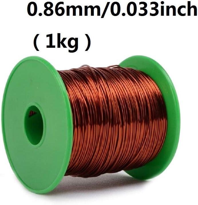 IQQI High Temperature Enameled Wire QZY-2-180 Copper Wire 0.59mm 1KG