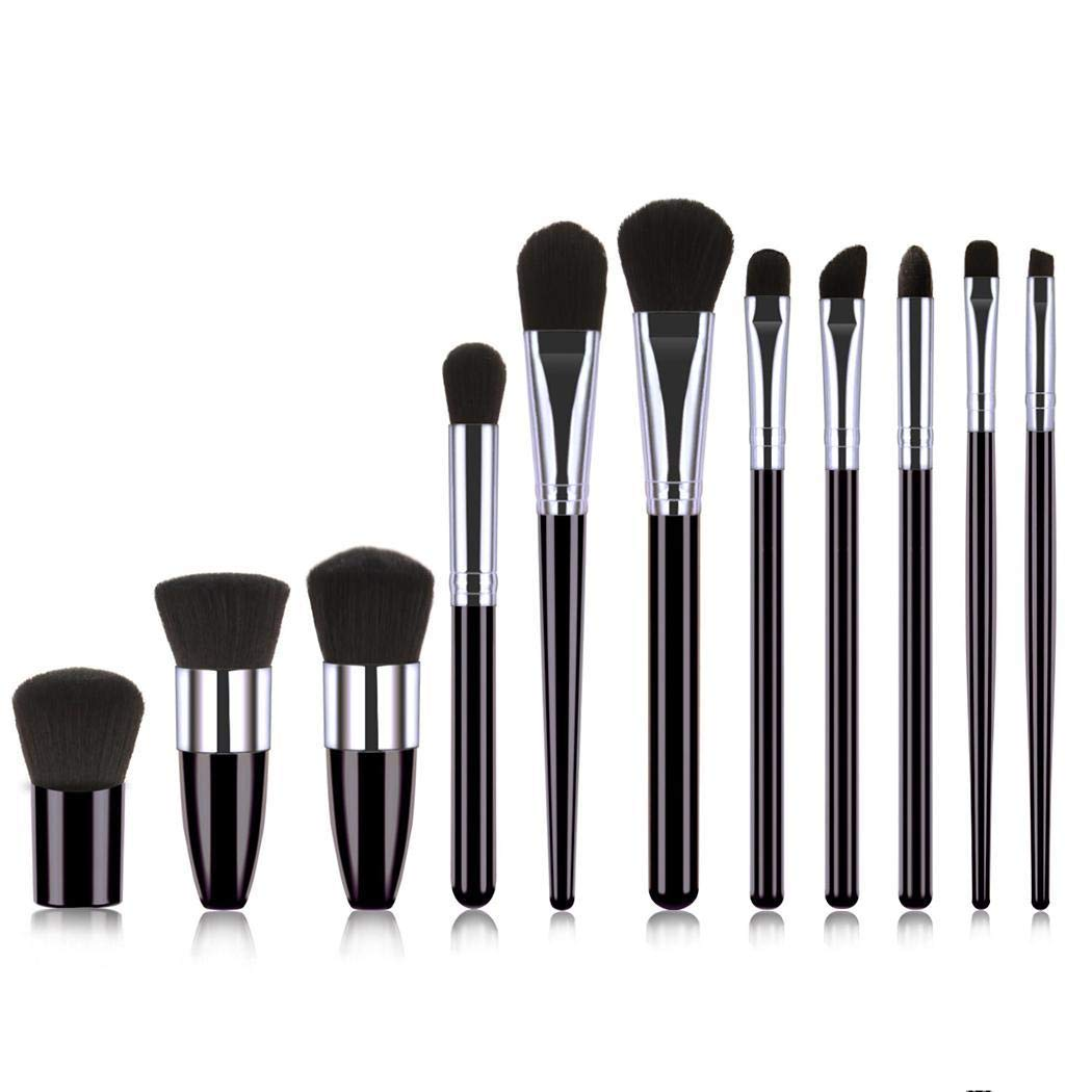 Pairris Pinceles de maquillaje Set de pinceles de maquillaje profesional cosmético Pincel de labios de sombra de ojos Sets de brochas