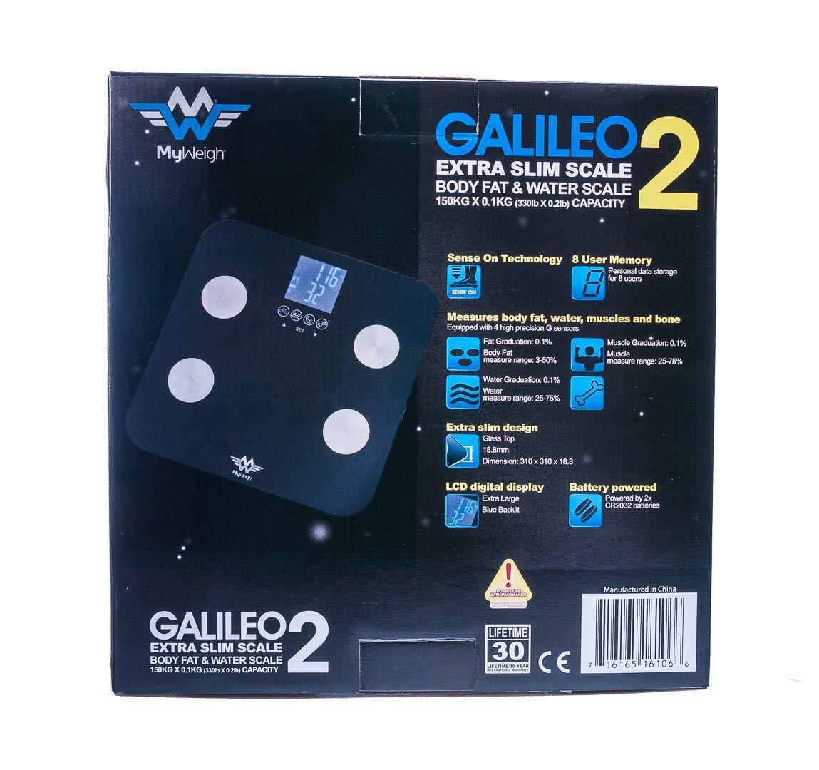 My Weigh SCMGALILEO2 GALILEO 2 Health Computing Scale