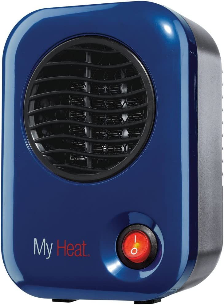 Lasko 102 My Heat Personal Ceramic Heater, Blue