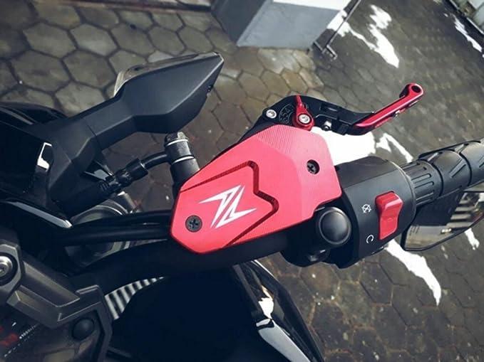 Negro Motocicleta Tapa del Dep/ósito del L/íquido de Frenos Delantero para Kawasaki Z900 2017 Z800 2013-2016 Z650 2017 Versys650 2007-2017 ER6N 2009-2016 ER6F 2009-2016 Ninja650