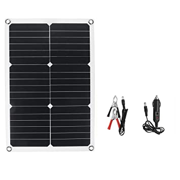 BouBou 20W 18V 28Cmx42Cm Panel Solar De Silicio ...