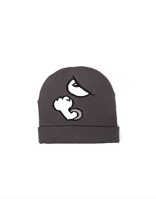 fdc3750cd7359 Nintendo Beanie Hat Super Mario bros Bullet Bill new Official gamer Grey   Amazon.ca  Clothing   Accessories