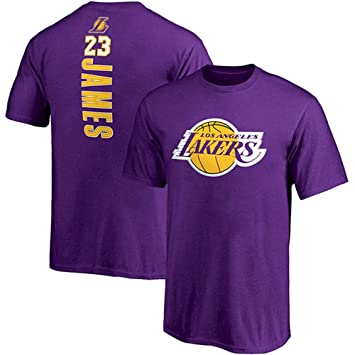 PEILIAN NBA Lakers James Uniforme del Equipo Camiseta Top Ropa de Temporada Informal (Tamaño :