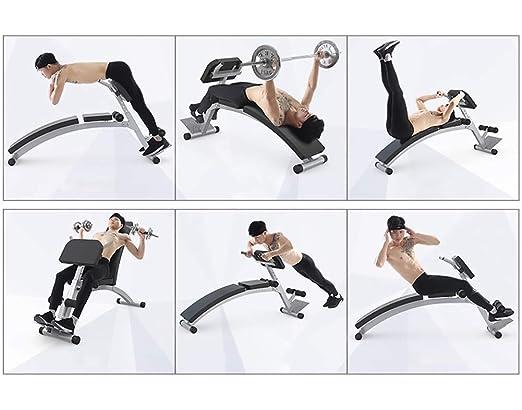 Bancos ajustables Sit Up Bench Fitness Training Banco De Pesas para Un Entrenamiento De Cuerpo Completo Trabajo Pesado Ajustable, Inclinación Inclinación ...